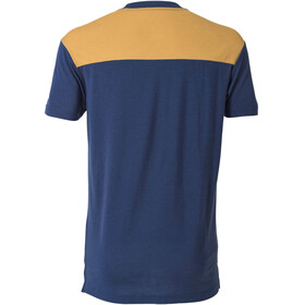 Mons Royale M's PK Pocket T-Shirt Navy/Desert